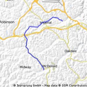 Montour Trail - McDonald to Cliff Mine Road