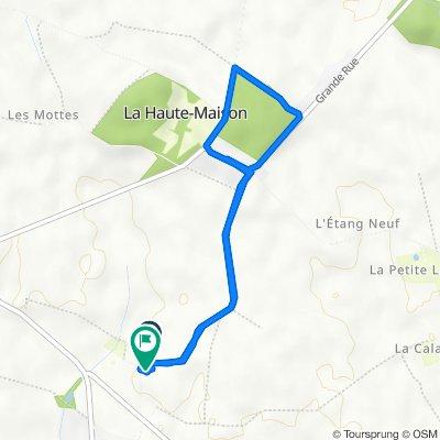 De 14–16 Rue de la Borde, Maisoncelles-en-Brie à 16 Rue de la Borde, Maisoncelles-en-Brie