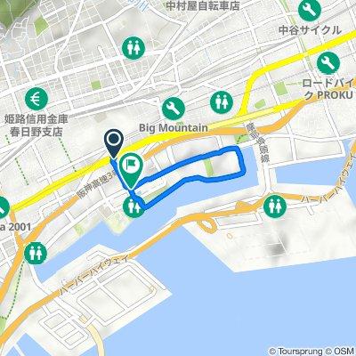 7-23, Wakinohamacho 2-Chōme, Chuo, Kobe to Wakinohamakaigandori 1-Chōme, Chuo, Kobe