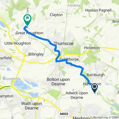 33–99 Mill Lane, Harlington, Doncaster to 24 Normandale Road, Barnsley