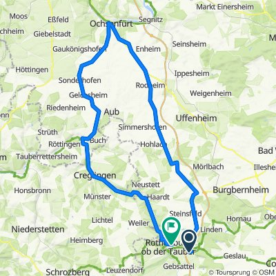Kirchfeldring 16, Neusitz nach Schweinsdorfer Straße 10, Rothenburg ob der Tauber