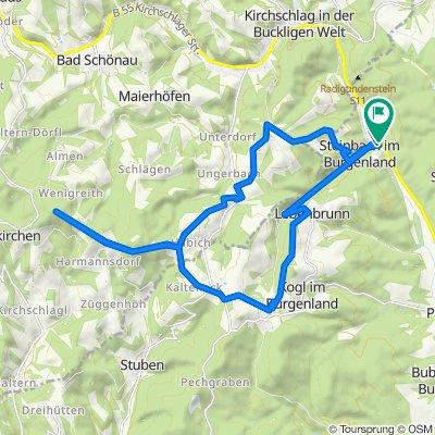 Steinbach im Burgenland to Hutwisch