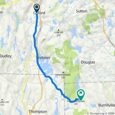 Millbury Boulevard 2, Oxford to Buck Hill Road 64, Burrillville