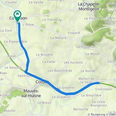 De 6 Rue des Tilleuls, Courgeon à 6 Rue des Tilleuls, Courgeon