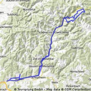 Lörrach-Feldberg-Lörrach