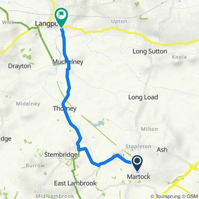 32 North St, Martock to Muchelney Road, Huish Episcopi, Langport