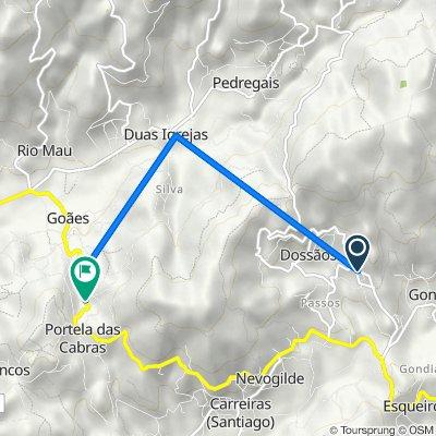 De Avenida do Fojo 507, Vila Verde a Estrada EN308, Vila Verde