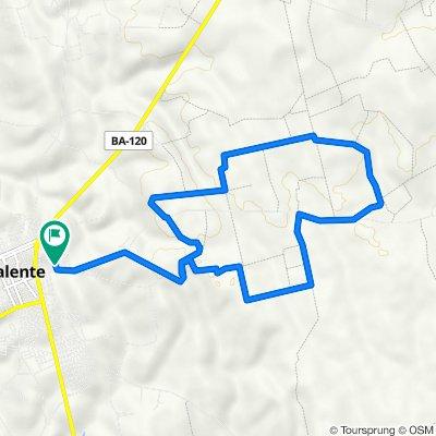 De Rua Esmeraldina Lopes, Valente a Rua Esmeraldina Lopes, Valente