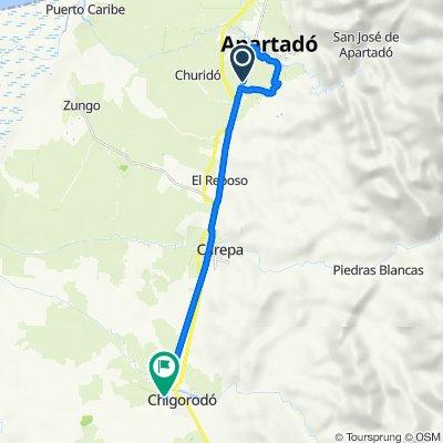 Ruta a Carrera 108 94-13, Chigorodo
