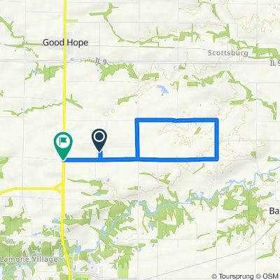 16190 E 1300th St, Macomb to N 1600th Rd, Macomb