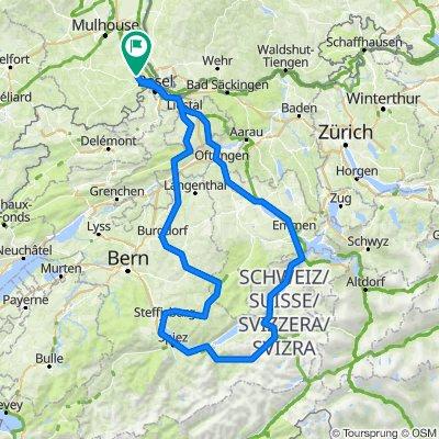 Blotzheim grosse Scheidegg Blotzheim