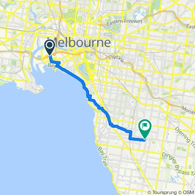 Salmon Street 111, Port Melbourne to Caleb Street 7, Bentleigh East