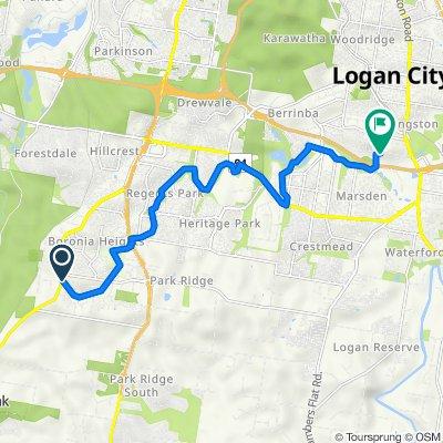 412 Middle Road, Greenbank to 63–67 Bega Road, Kingston