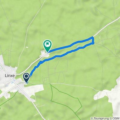 De 385 Route de Retgeyre, Linxe à 1103 Route de Labaste, Linxe