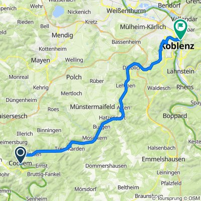 MoselLux E6 Cochem-Koblenz