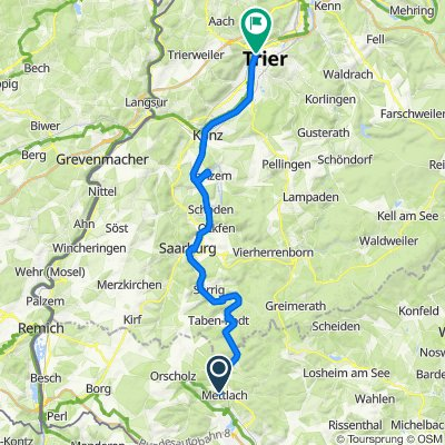 MoselSaar E2 Mettlach-Trier