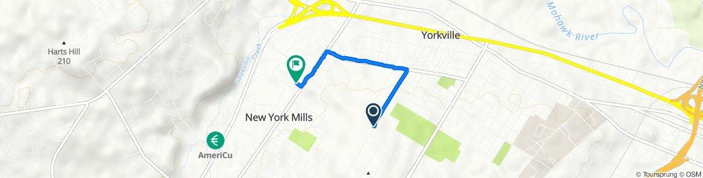 114 Cross St, Yorkville to 1–11 White St, New York Mills