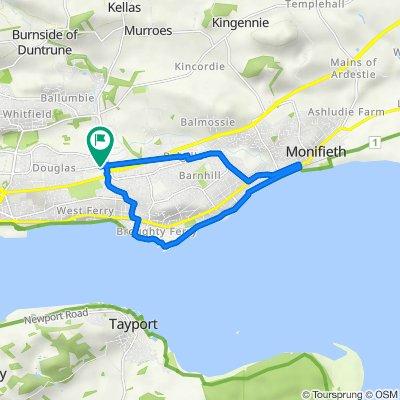 209 Balunie Ave, Dundee to 209 Balunie Ave, Dundee