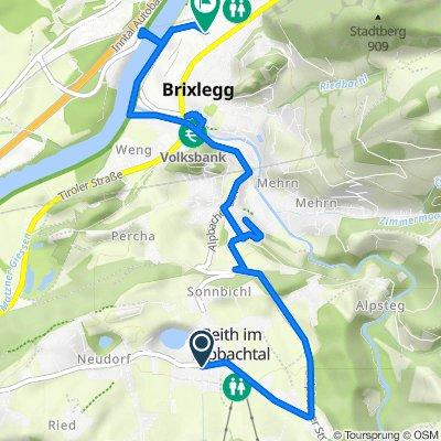 Kirchfeld 4, Reith im Alpbachtal nach Burglechnerweg 12a, Brixlegg