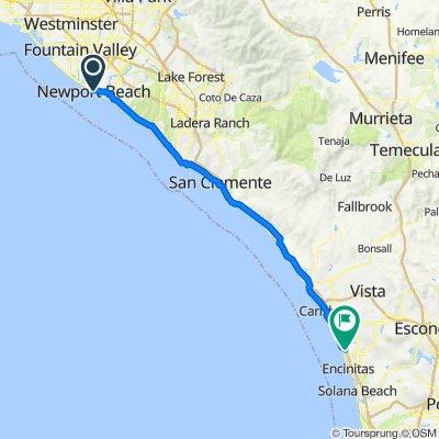 3416 Via Oporto, Newport Beach to 1490 Hymettus Ave, Encinitas