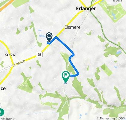 4224 Dixie Hwy, Erlanger to 77 Eagle Dr, Elsmere