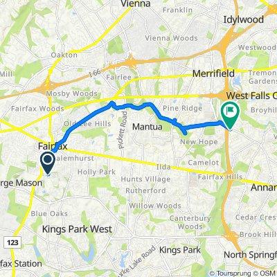 4441 George Mason Blvd, Fairfax to Wheatwheel Ln, Annandale