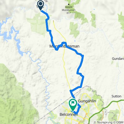Yass to Canberra Bike Trail (Perfect for E-bike)