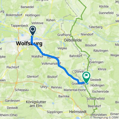 Schloßstraße 25–27, Wolfsburg nach Mühlenweg 6, Oebisfelde-Weferlingen