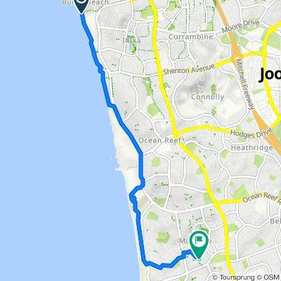 Ocean Parade 35, Iluka to Tellen Street 26, Mullaloo
