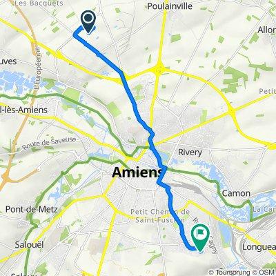 Itinéraire vers 55–57 Rue Le Corbusier, Amiens