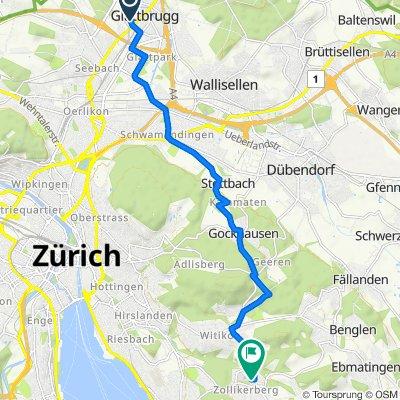 Sägereistrasse 20, Glattbrugg nach Neuweg 10, Zollikerberg