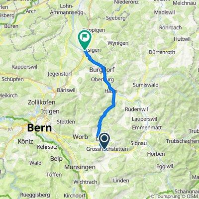 Thalibühlweg 9, Grösshöchstetten nach Solothurnstrasse, Kirchberg (BE)