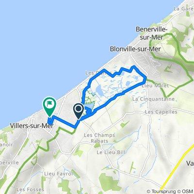 De Impasse des Gabions, Villers-sur-Mer à 19 Rue Saint-Ferdinand, Villers-sur-Mer
