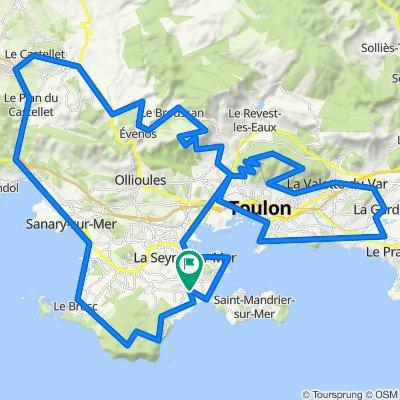 Faron - Baou de 4 Oures - Le Mai - 20 Avril 21.