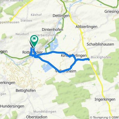 Am Silberberg 6, Rottenacker nach Kapellenäcker 24, Rottenacker