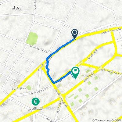 Al Zaaem Ghandi 202, Al Khosous to Abd El-Rahman El-Refaey, Al Matar
