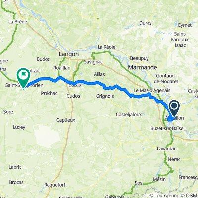 Day 8 to Saint Symphorien