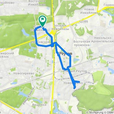 20 04 2021 Южное Измайлово + Reutov Novokosino