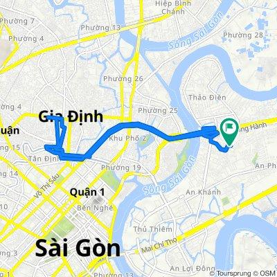 18/7/2 Hẻm 18/7 Đường Số 4, Ho Chi Minh City to Hẻm 18/7 Đường Số 4, Ho Chi Minh City