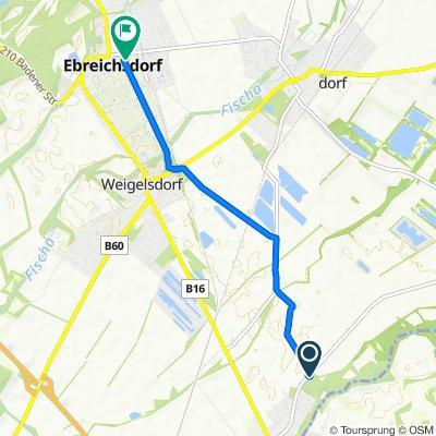 Untere Hauptstraße 49–59, Pottendorf nach Schulgasse 5-7, Ebreichsdorf