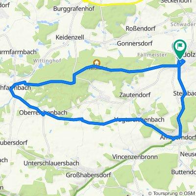 Rundtour Cadolzburg - Kirchfarrnbach -Ammerndorf