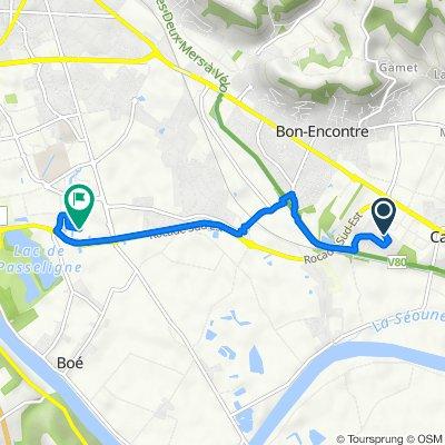 De Impasse Pierre Paul de Riquet 11, Boé à Unnamed Road, Boé