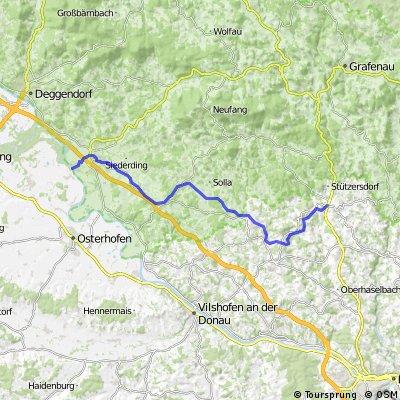 Donau - Ilz Radweg