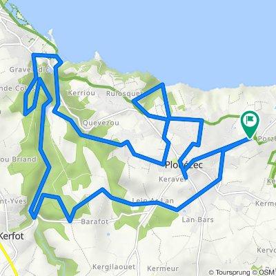 De 3 Route de Port Lazo, Plouézec à 3 Route de Port Lazo, Plouézec