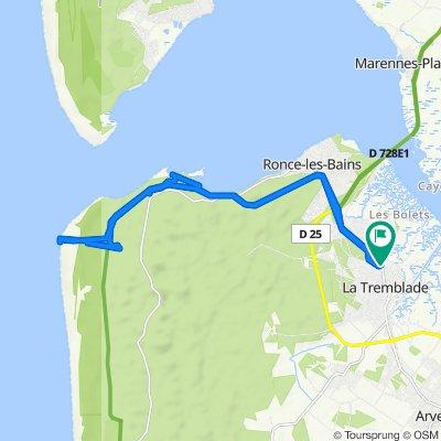 De 41 Boulevard Pasteur, La Tremblade à 41 Boulevard Pasteur, La Tremblade