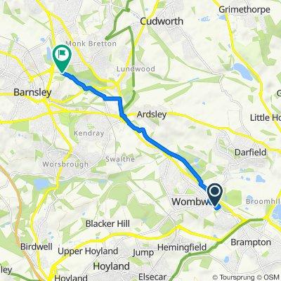 29 Ebor Close, Barnsley to 6 Eaming View, Barnsley