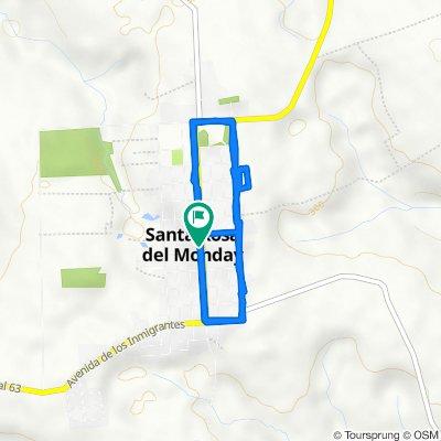 Ruta tranquila en Santa Rosa del Monday