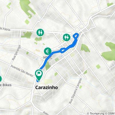 De Rua Jaques Loss, 166–234, Carazinho a Rua Jaques Loss, 11, Carazinho