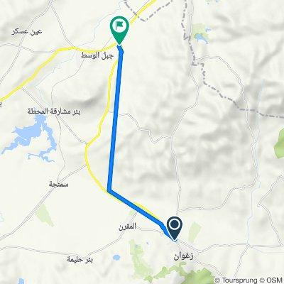De Avenue 14 janvier, Zaghouan à C133