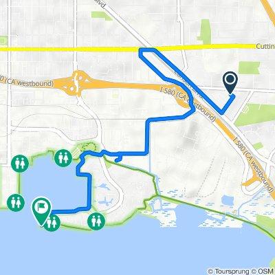 De 841 S 45th St, Richmond a San Francisco Bay Trail, Richmond
